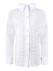 0320 блузка детская, белая