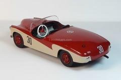 GAZ-M-20 Pobeda (Victory) Sport SG1 1:43 DeAgostini Auto Legends USSR Sport #1