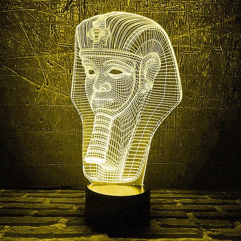 Ночник Маска Тутанхамона