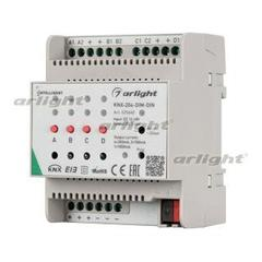 INTELLIGENT ArlightIGHT Диммер KNX-204-DIM-DIN (12-48V, 8x0.35/4x0.7/2x1A)
