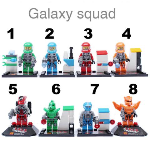 Minifigures Galaxy Squad Blocks Building