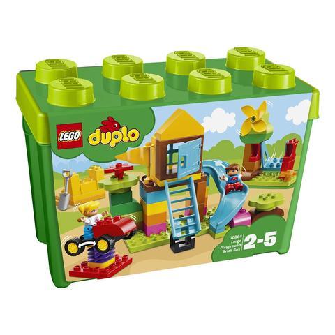 LEGO Duplo: Большая игровая площадка 10864 — Large Playground Brick Box — Лего Дупло