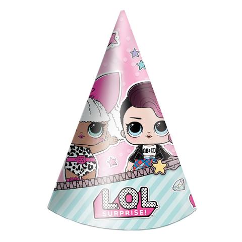 Колпачок Кукла ЛОЛ (LOL), 6 шт.