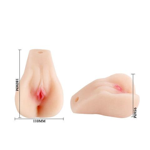 Мастурбатор анус и вагина с вибрацией и пультом фото