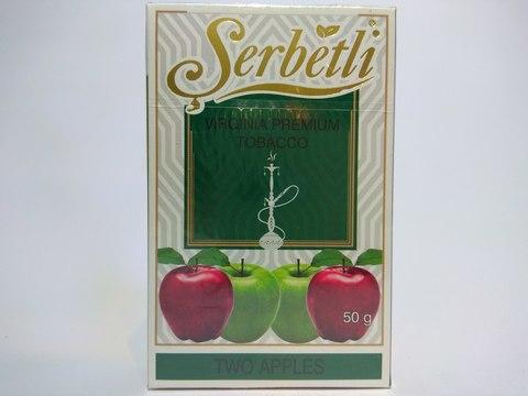 Табак для кальяна SERBETLI Two Apple 50gr