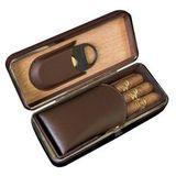 Футляр для 3-х сигар Афисионадо LCFC/BN с гильотиной