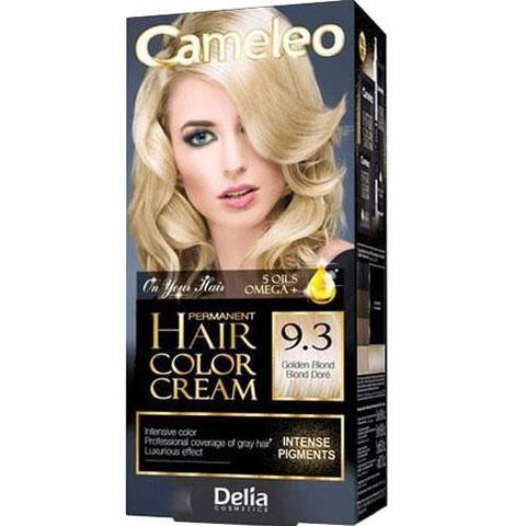 Delia Cosmetics Cameleo Крем-краска для волос тон 9.3 золотистый блондин