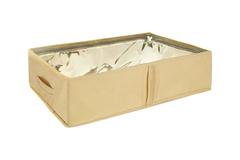 кофр для сапог со съемными перегородками, minimalistic sand