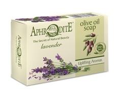 Мыло оливковое с ароматом лаванды Aphrodite 100 гр