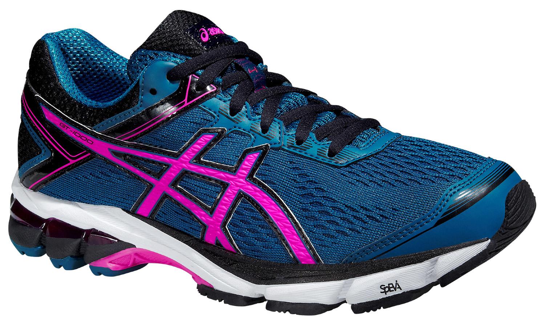 Женские кроссовки для бега Asics GT-1000 4 (T5A7N 5335) синие