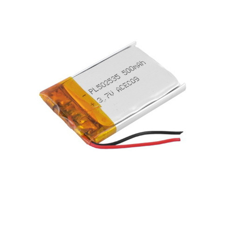 Аккумуляторы литий-полимерный 502535, 500mAh, 3.7V