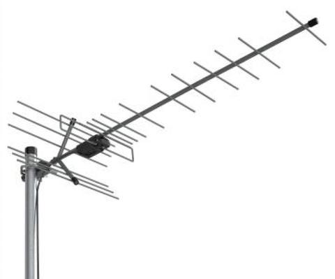 ТВ антенна активная 5V Locus Эфир-18AF (L035.18D) цифровая DVB-T2 на 35-50 км