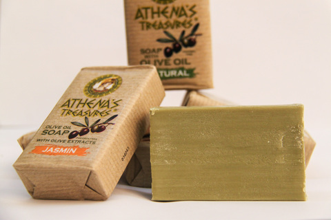 Мыло от ATHENA'S TREASURES в Eco бумаге
