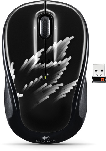 LOGITECH M325 Wireless Coral Fan