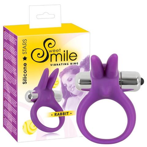 Эрекционное кольцо с вибрацией ORION Smile (3,5х6,5 см)