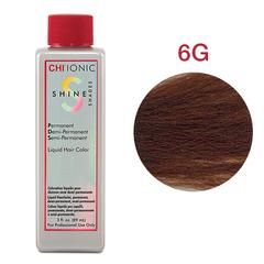 CHI Ionic Shine Shades Liquid Color 6G (Светлый золотой-коричневый) - Жидкая краска для волос