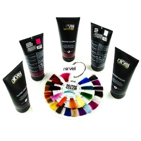 Гель-маска питательная Nirvel Nutre Color