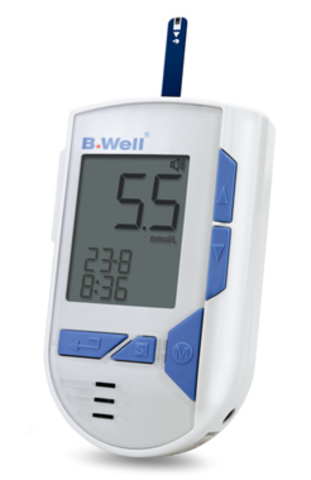 Глюкометр говорящий B.Well WG-72 Voice