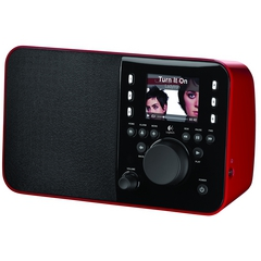 LOGITECH Squeezebox Radio Red