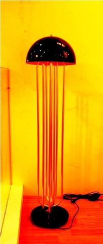 replica TURNER FLOOR LIGHT by Delightfull ( gold + black )