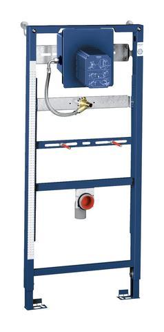 Система инсталляции для писсуара GROHE Rapid SL для ИК-панели или мех. смыва (1,13 м - 1,3 м) с принадлежностями для монтажа перед стеной (38803001)