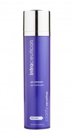 INTRACEUTICALS | Очищающий гель для чувствительной проблемной кожи и акне / Clarity sensitive gel cleanser, (50 мл)