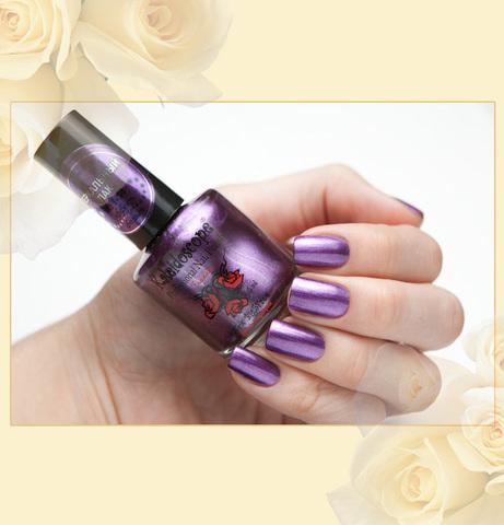 ЭК лак Зеркальный эф. фольги f-14 фиолетовый