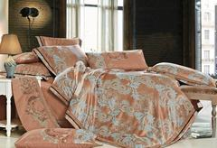 Постельное белье сатин жаккард с вышивкой Valtery 220-130