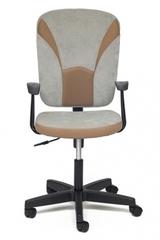 Кресло компьютерное Остин (Ostin) — серый/бронзовый (Мираж грей/TW-21)