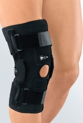 Укороченный регулируемый полужесткий коленный ортез medi protect.ST II