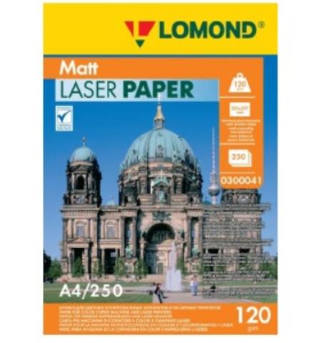 Бумага для лазерной печати LOMOND Ultra DS Matt CLC Paper, двустор., А4, 120 г/м2, 250 листов (0300041)