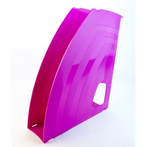 Вертикальный накопитель Attache fantasy 65мм розовый