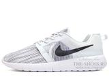 Кроссовки Мужские Nike Roshe Run SMR White Black