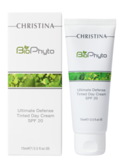 Bio phyto ultimate defense tinted day cream spf 20 - Дневной крем абсолютная защита spf 20 с тоном