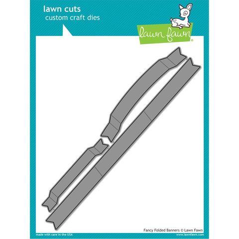 Набор ножей  для вырубки - Fancy Folded Banners