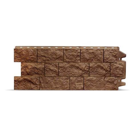 Фасадная панель Деке Скала 1052х425 мм Ржаной
