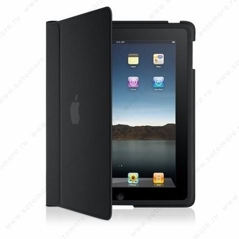 Чехол-книжка для Apple iPad черный - Apple iPad Case