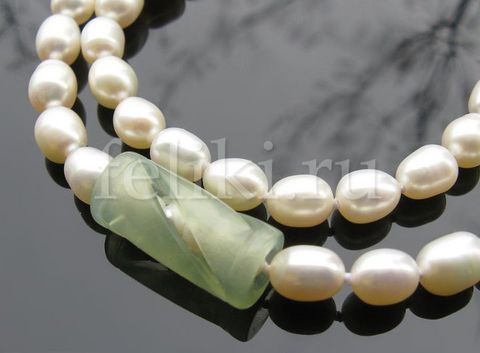 бусы из жемчуга Нежность а-0189-42
