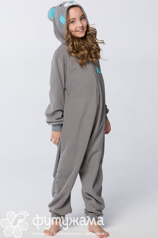 "Детская пижама-кигуруми ""Мишка Тедди"""