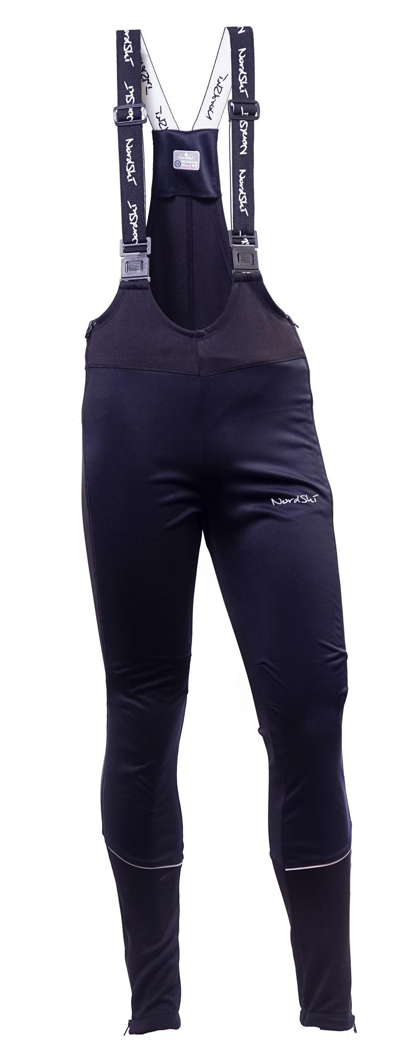 Мужской разминочный лыжный костюм Nordski Active (NSM301200) черный брюки