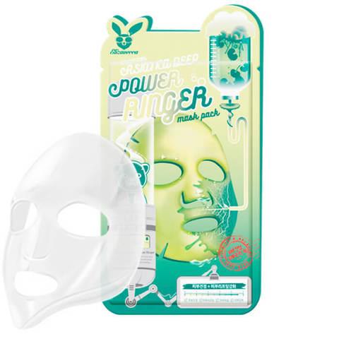 Elizavecca Ткан. маска д/лица ЦЕНТЕЛЛА CENTELLA ASIATICA DEEP POWER Ringer mask