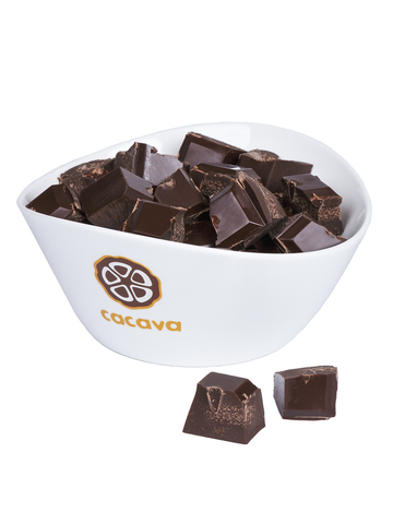 Тёмный шоколад 65 % какао (Сан-Томе), внешний вид
