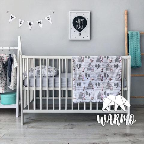 Дитяча постільна білизна в ліжечко Warmo™