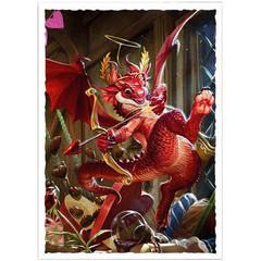 Dragon Shield - Матовые протекторы Valentine Dragon 2020 100 штук