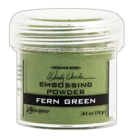 Пудра для эмбоссинга Ranger Ink- FERN GREEN