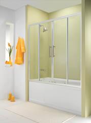 Стеклянная шторка на ванну Esbano ES-1417 170х140 см