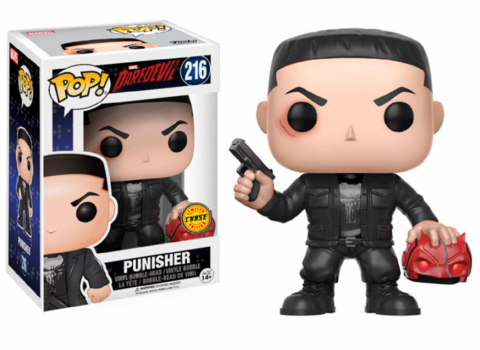 Фигурка Funko Pop! Marvel: Daredevil - Punisher (Chase)