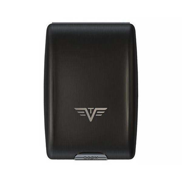 Кошелек c защитой Tru Virtu OYSTER, цвет черный , 102*70*27 мм