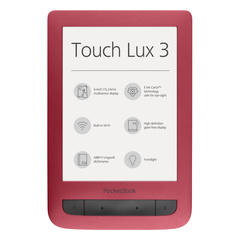 Электронная книга PocketBook 626 Plus Limited Edition Ruby Red Красная