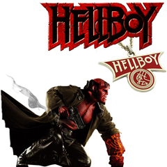 Hellboy necklace